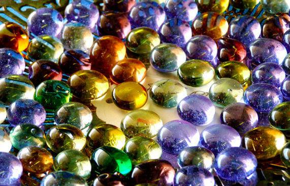 Bol Com Clayre Eef Decoratie Steentjes 200 Gr 17 19 Mm Transparant Glas Glazen Steentjes