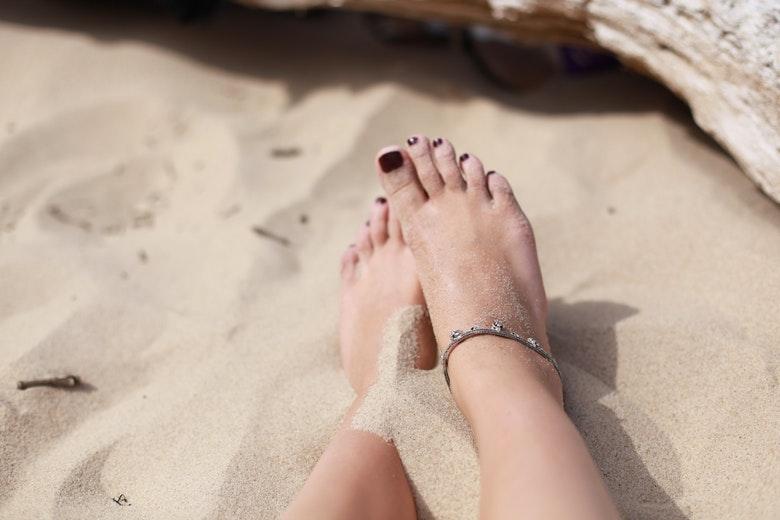Met voeten is het een stuk beter